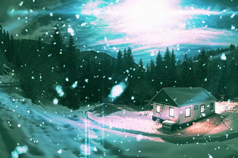 آموزش شبیه سازی برف واقعی با تم فانتزی در افتر افکت