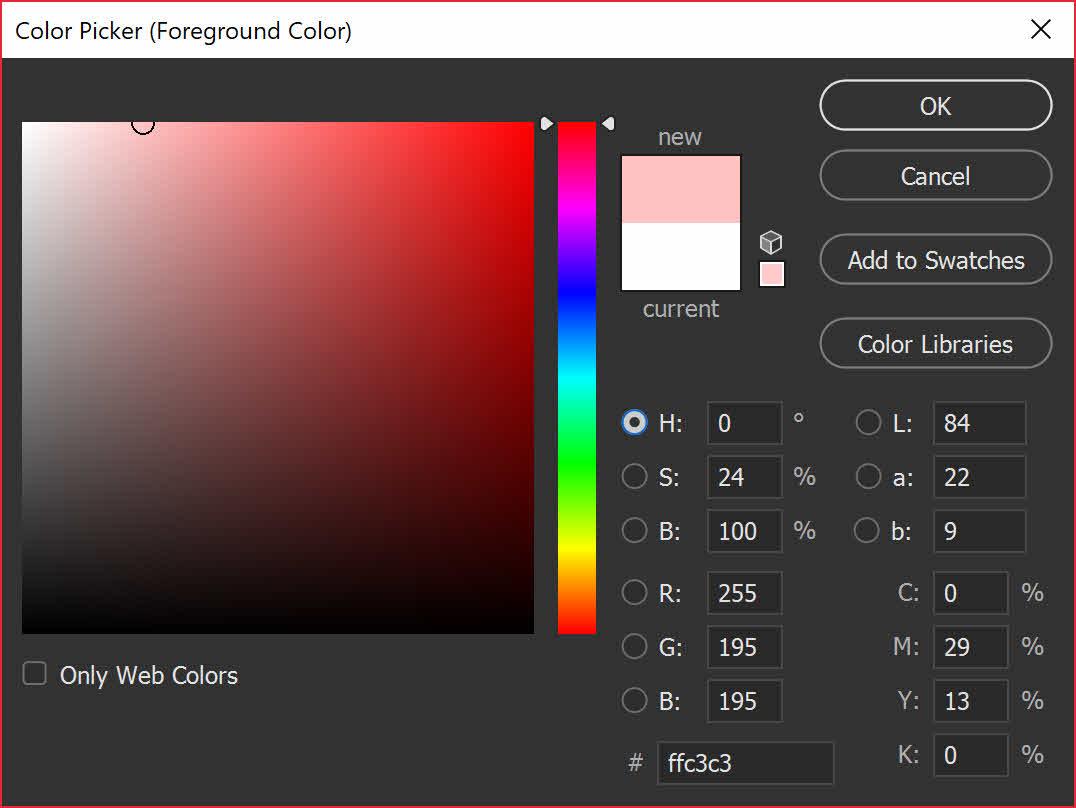 اصلاح رنگ فتوشاپ